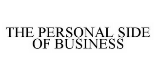 mark for THE PERSONAL SIDE OF BUSINESS, trademark #78570878