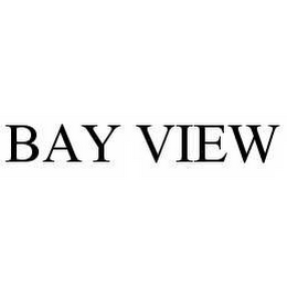 mark for BAY VIEW, trademark #78571248