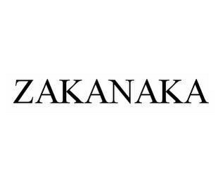 mark for ZAKANAKA, trademark #78571366