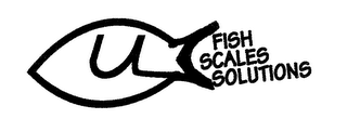 mark for ULC FISH SCALES SOLUTIONS, trademark #78571826