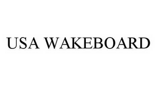 mark for USA WAKEBOARD, trademark #78573550