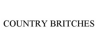 mark for COUNTRY BRITCHES, trademark #78573612