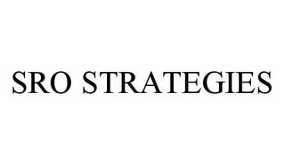 mark for SRO STRATEGIES, trademark #78573737
