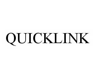mark for QUICKLINK, trademark #78573916