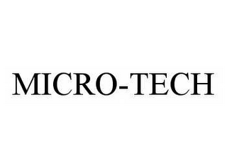 mark for MICRO-TECH, trademark #78574253