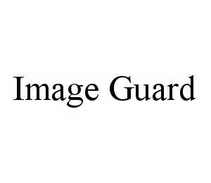 mark for IMAGE GUARD, trademark #78574265
