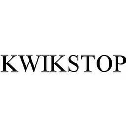 mark for KWIKSTOP, trademark #78574413