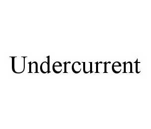 mark for UNDERCURRENT, trademark #78574736