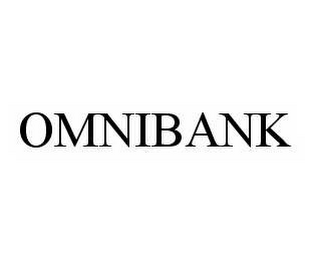 mark for OMNIBANK, trademark #78575051