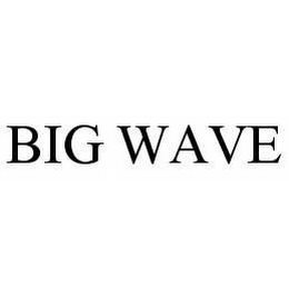 mark for BIG WAVE, trademark #78575134