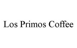 mark for LOS PRIMOS COFFEE, trademark #78576093
