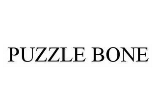 mark for PUZZLE BONE, trademark #78576852