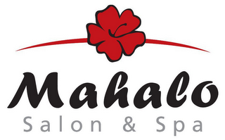 mark for MAHALO SALON & SPA, trademark #78577858