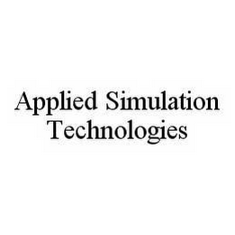 mark for APPLIED SIMULATION TECHNOLOGIES, trademark #78578836