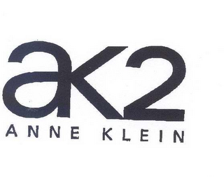mark for AK2 ANNE KLEIN, trademark #78579381