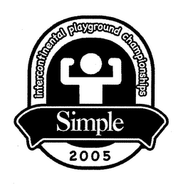 mark for INTERCONTINENTAL PLAYGROUND CHAMPIONSHIPS SIMPLE 2005, trademark #78580405