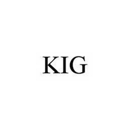 mark for KIG, trademark #78580534