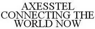 mark for AXESSTEL CONNECTING THE WORLD NOW, trademark #78580871