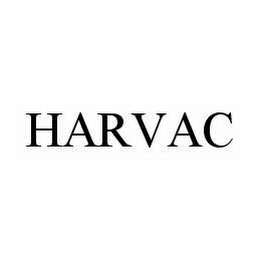 mark for HARVAC, trademark #78582156
