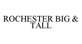 mark for ROCHESTER BIG & TALL, trademark #78582818