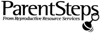 mark for PARENTSTEPS FROM REPRODUCTIVE RESOURCE SERVICES, trademark #78583640
