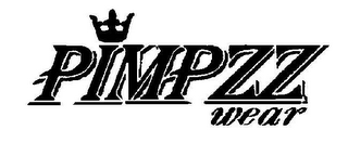 mark for PIMPZZ WEAR, trademark #78583787