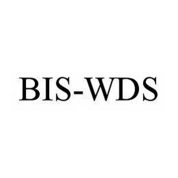mark for BIS-WDS, trademark #78584223