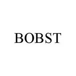 mark for BOBST, trademark #78584242