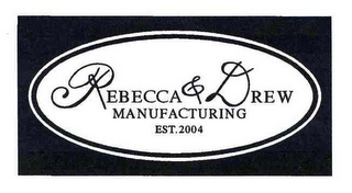 mark for REBECCA & DREW MANUFACTURING EST. 2004, trademark #78584244
