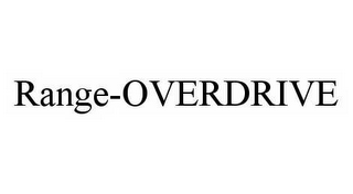 mark for RANGE-OVERDRIVE, trademark #78584358