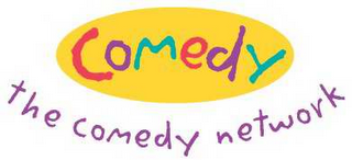 mark for COMEDY THE COMEDY NETWORK, trademark #78584460