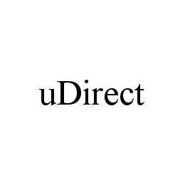 mark for UDIRECT, trademark #78584551