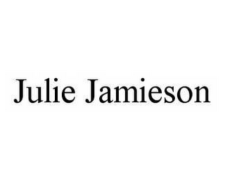 mark for JULIE JAMIESON, trademark #78585127
