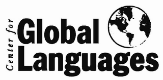 mark for CENTER FOR GLOBAL LANGUAGES, trademark #78585347