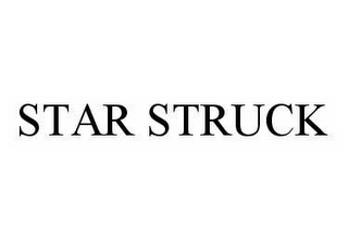 mark for STAR STRUCK, trademark #78585692