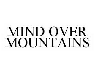mark for MIND OVER MOUNTAINS, trademark #78585695