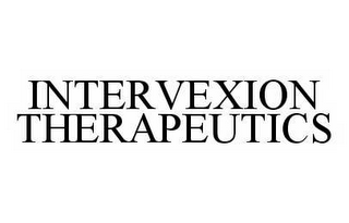 mark for INTERVEXION THERAPEUTICS, trademark #78587843