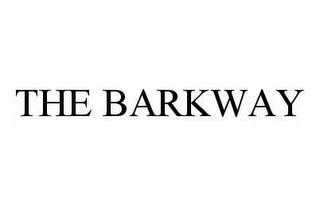 mark for THE BARKWAY, trademark #78588029