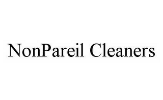 mark for NONPAREIL CLEANERS, trademark #78588449