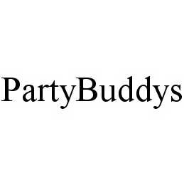mark for PARTYBUDDYS, trademark #78588639
