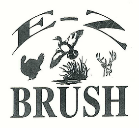 mark for E-Z BRUSH, trademark #78588768