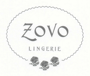 mark for ZOVO LINGERIE, trademark #78588828