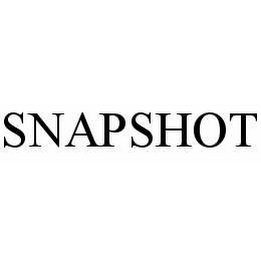 mark for SNAPSHOT, trademark #78589699