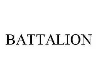 mark for BATTALION, trademark #78589877