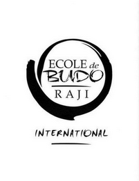 mark for ECOLE DE BUDO RAJI INTERNATIONAL, trademark #78590252
