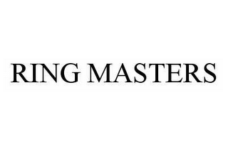 mark for RING MASTERS, trademark #78590597