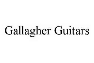 mark for GALLAGHER GUITARS, trademark #78591019