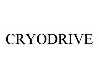 mark for CRYODRIVE, trademark #78591269