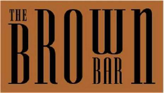 mark for THE BROWN BAR, trademark #78591585