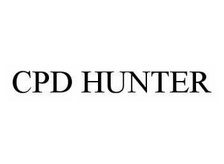 mark for CPD HUNTER, trademark #78592089